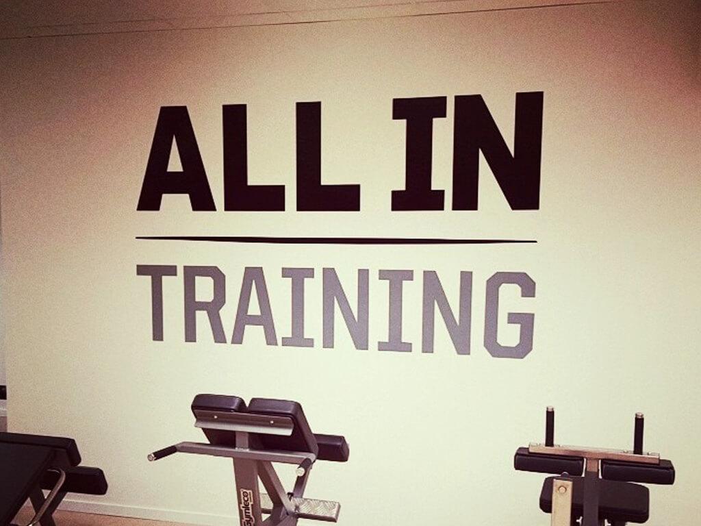 All In Training är ett helt nytt gym i Ånge som har den nyaste och absolut bästa utrustningen.