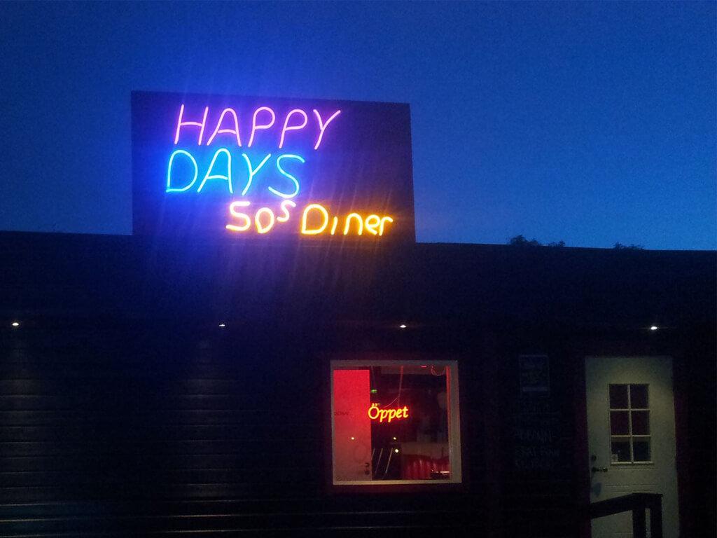 Vägkrogen Happy Days Diner i Torpshammar.