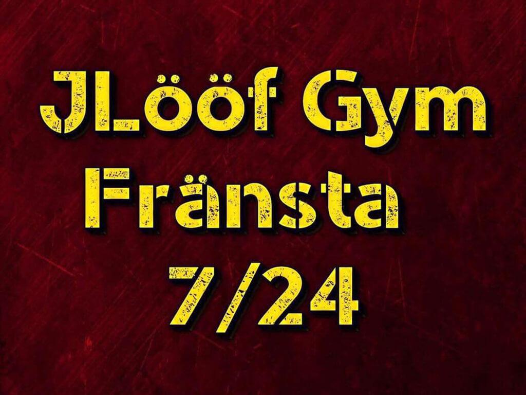 Gymmet Jlööf Fitness & Gym 24h som ligger i Fränsta.