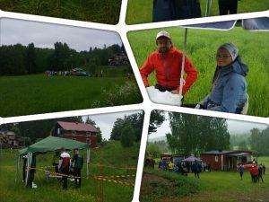 Kollage av bilder från Ånge Orienteringsklubb.