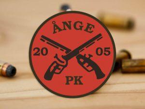 Logotypen till Ånge Pistolskytte i Ånge.