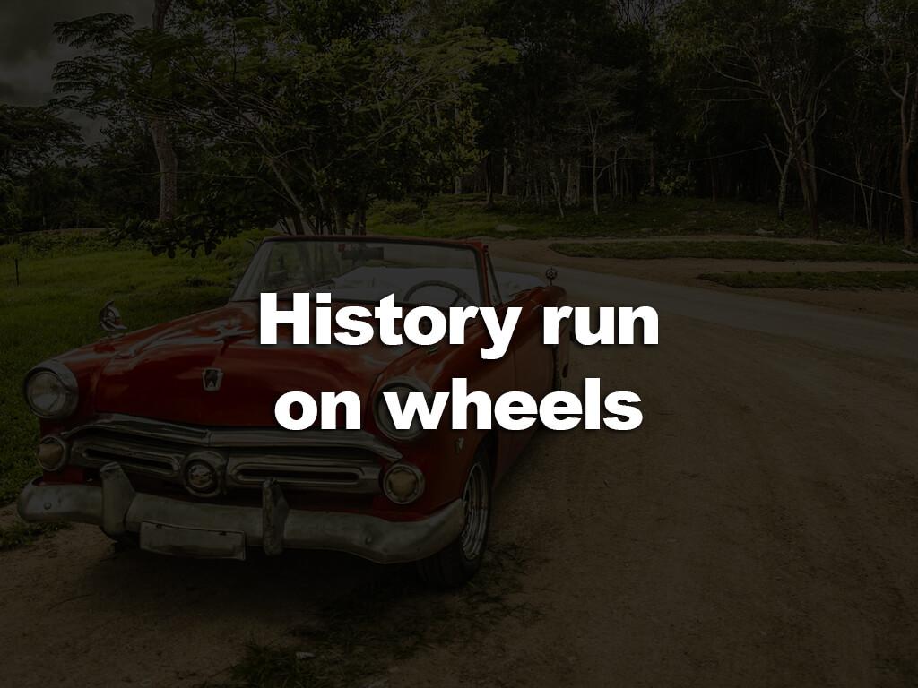 History run on wheels är en cruisingrunda med tipsslinga i Borgsjö.