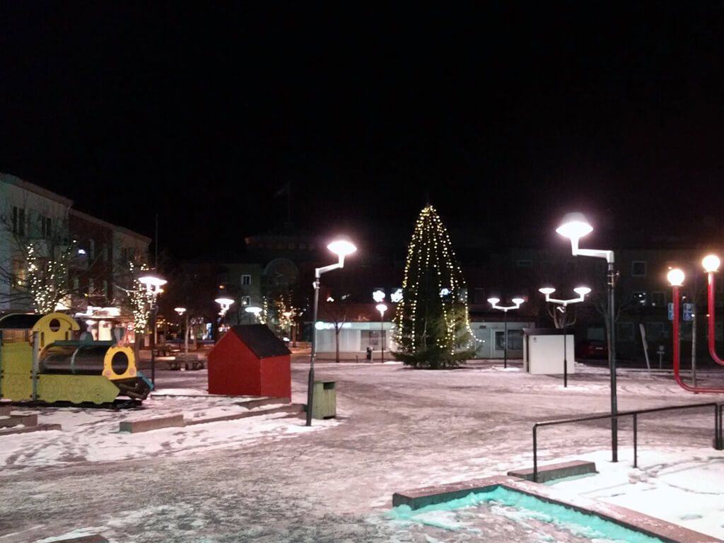 Julmarknad i Ånge söndag den 10 december.