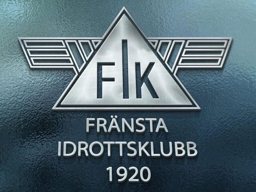 Logotypen till fotbollslaget Fränsta IK.