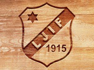 Logotypen till fotbollslaget Ljunga IF