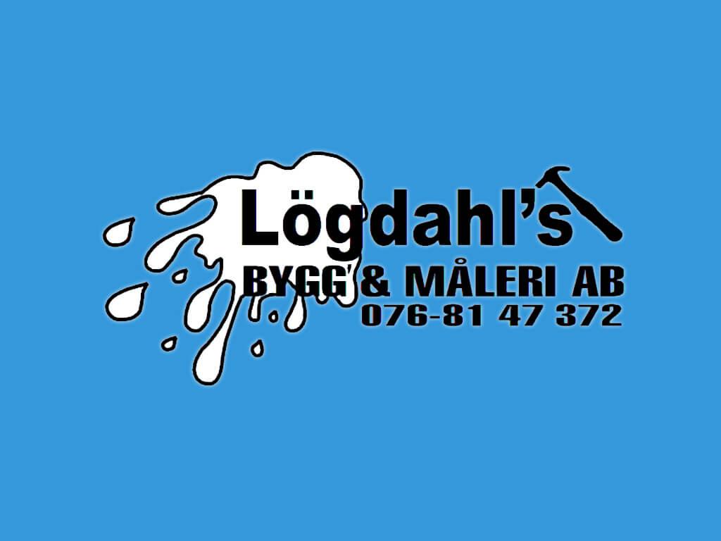 Logotypen till Lögdahls Bygg och Måleri.