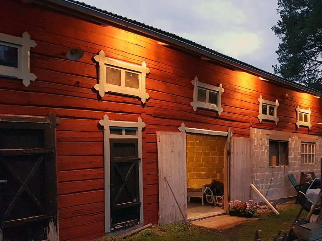 Utanför Mitt Musteri Borgsjö är ett nyöppnat äppelmusteri utanför Borgsjö