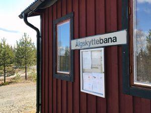 En av huset vid Ånge Jaktskytteklubb.