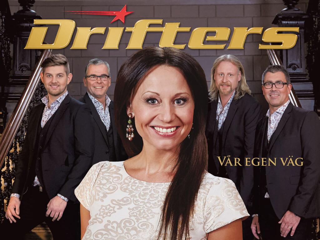 Lördag den 23 september kl. 21:00 till 01:00 spelar Drifters på Erikslund Folkets Hus.